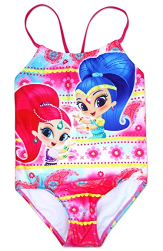 Girls' Shimmer and Shine One Piece Swimsuit 6X