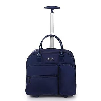 ZFF-lvxingbao Maletín para Trolley para Mujeres Maleta de Viaje de 16 Pulgadas con Maleta portátil, Mini Remolque de embarque Ligero (Color : 1): Amazon.es: ...