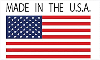 12x6 Large American USA Flag Car Truck Window Decal Sticker Patriotic Auto Bumper Sticker Vinyl For Car Truck RV SUV Boat Support US Military Rogue River Tactical