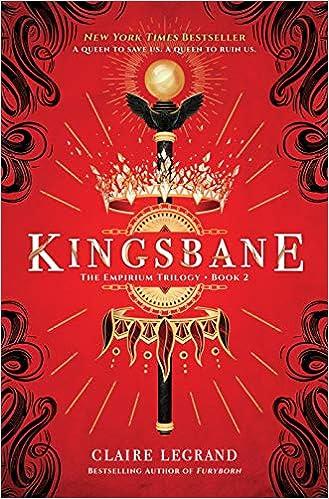 Amazon com: Kingsbane (The Empirium Trilogy) (0760789267772): Claire