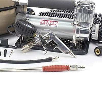VIAIR 450P-RV Silver Automatic Portable Compressor Kit (45053), 1 Pack: Automotive