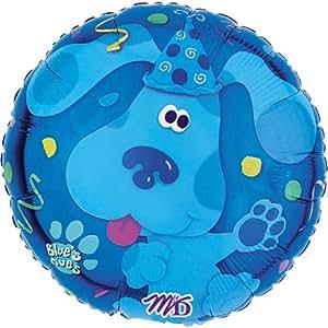 Blues Clues 18 Inch Mylar Confetti Birthday Balloon