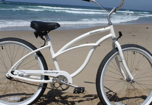 Firmstrong Urban Lady Alloy Single Speed Beach Cruiser Bicycle, 26-Inch, White by Firmstrong (Image #4)