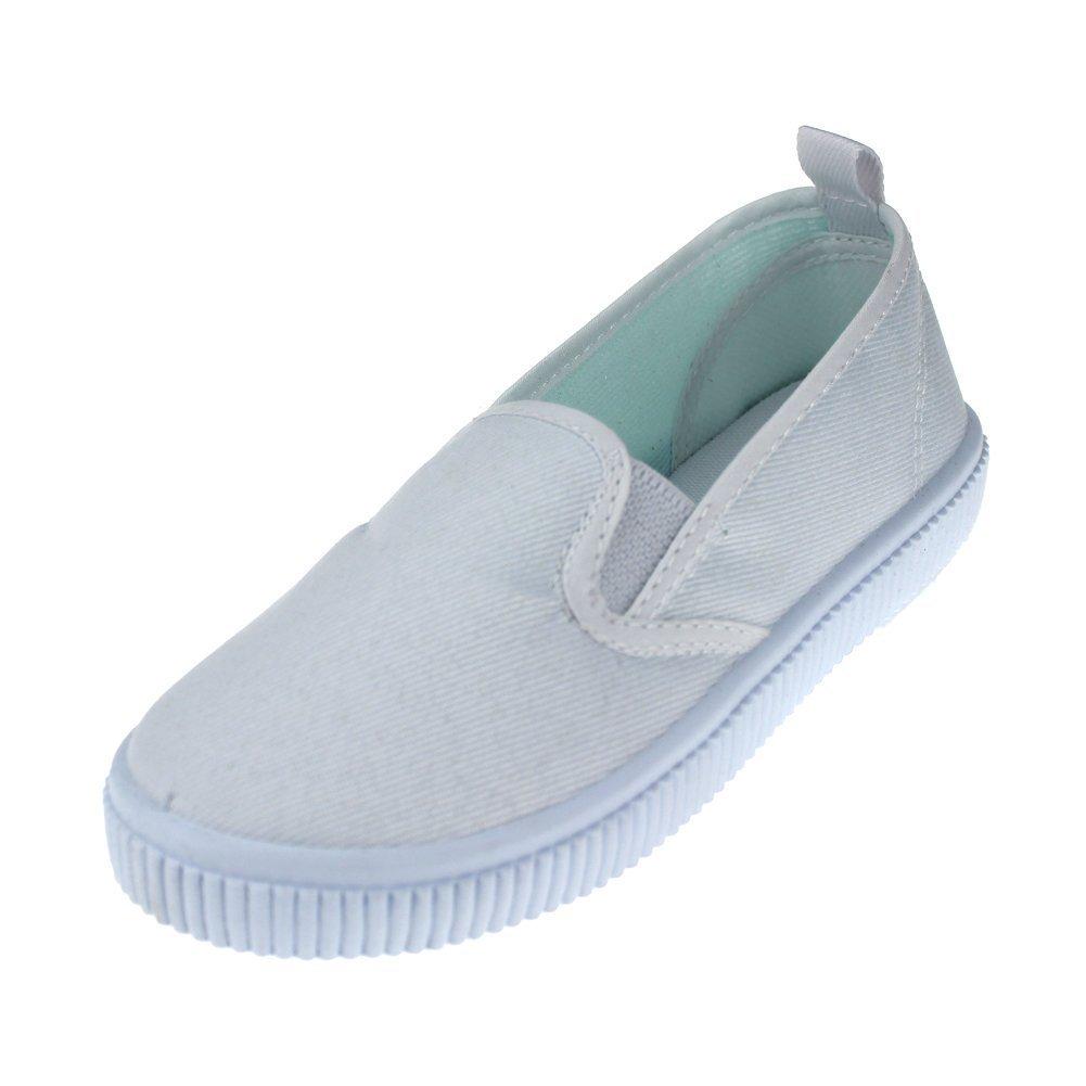 Maxu Kids Canvas Shoe Slip on Loafers,Little Kid,13M