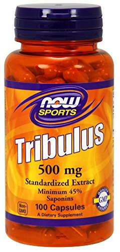 Now Foods Tribulus 500 mg 100 Capsules