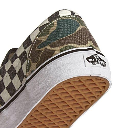 Vans Era, Zapatillas de Skateboarding Hombre marrón