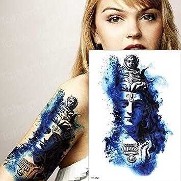 HXMAN 5pcs Tatuajes Temporales Impermeables Hombres Tatuaje Bosque ...