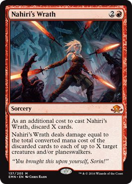 Magic: the Gathering / Nahiri's Wrath(137) - Eldritch Moon / A English Single individual Card