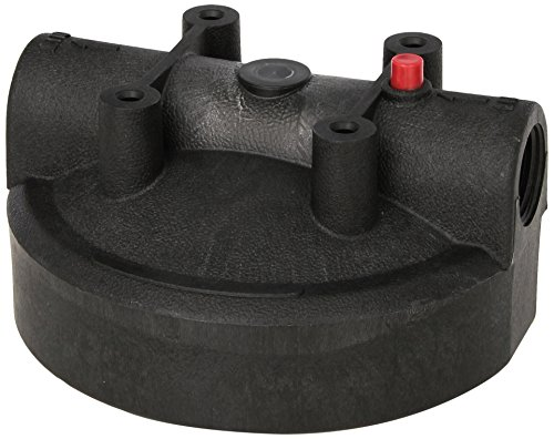 Pentek 154166 Black Cap with Pressure Release for Big Blue Housing, 1'' by Pentek