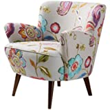 Sophie Floral Accent Chair