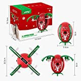 JJRC H66 Quadcopter Christmas Drone for Christmas Gift for Kids Altitude Hold Aircraft with 720P HD Camera RTF X-MAS EGG (Red)