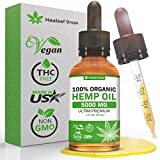 Hemp Oil for Pain & Anxiety Relief – 5000MG / 30ML – Organic