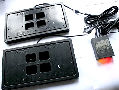 AvaParts Electric License plate frame Flipper American USA type 1 PC in Set