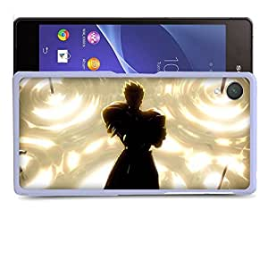 Case88 Designs Fate Stay Night Gilgamesh Gate of Babylon Protective Snap-on Hard Back Case Cover for Sony Xperia Z2 by supermalls