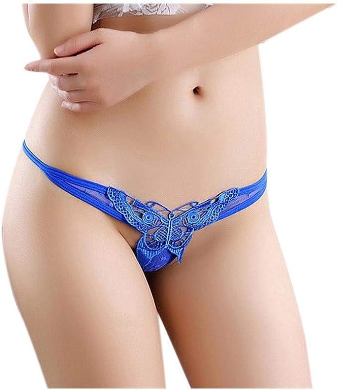 Frauen G-String Slips Höschen Tangas Dessous Unterwäsche Bikini Knickers