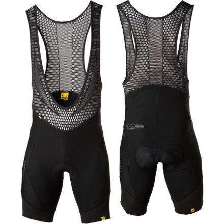 (Mavic Infinity Bib Short black (Size: M) men bike shorts with)