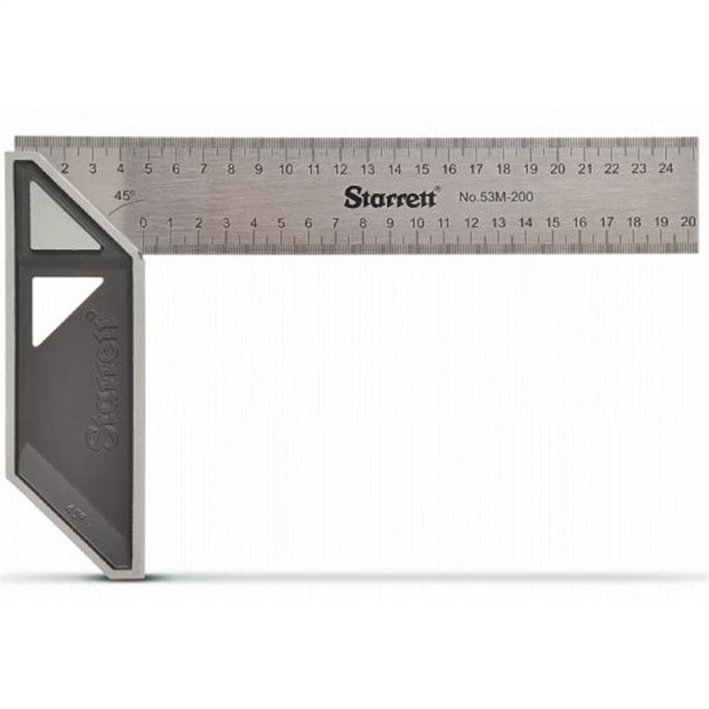 Starrett K53M-250-S Try Square                Rolson 50858 Combination Square, 300 mm                Faithfull Engineers Squares Set 4Pc (2/3/4/6In)                Starrett K53M-350-S Try Square