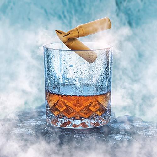 XL Or Ensemble de Cadeaux Pierre a Whisky Exclusives en Acier Inoxydable - Haute Technologie de Refroidissement – Cadeau… 5