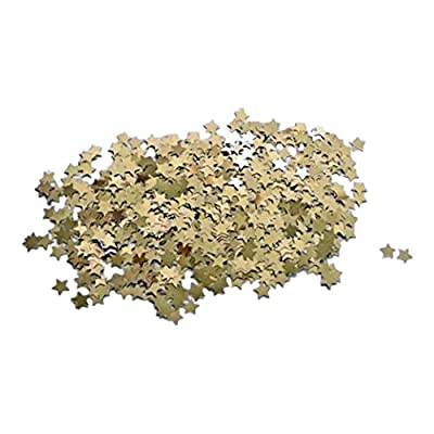 Amscan 6532 - Confettis Pois Or et Argent 15 g
