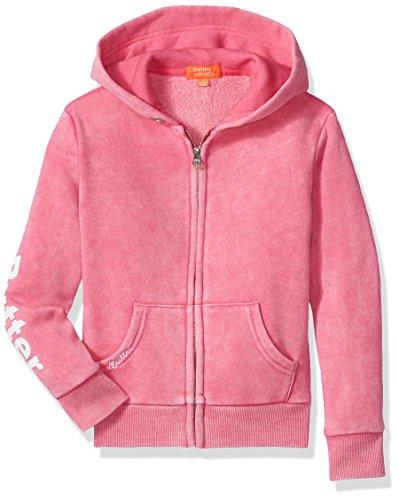 Hoodies Soft Super Butter - Butter girls Fleece Zip Up Hoodie (More Styles Available) beetroot purple, 4