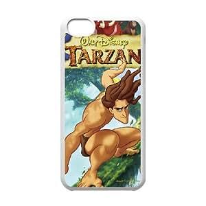 Printed Cover Protector iPhone 5C Cell Phone Case Brwjk Tarzan Unique Design Cases