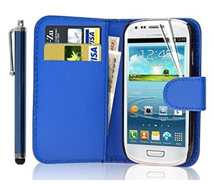 separation shoes 6591f 5be39 New Leather Wallet Flip Case Cover Pouch for Samsung Galaxy S4 Mini ...