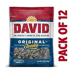 DAVID Roasted and Salted Original Jumbo ...