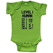 inktastic Level 1 Human Infant Creeper Newborn Apple Green
