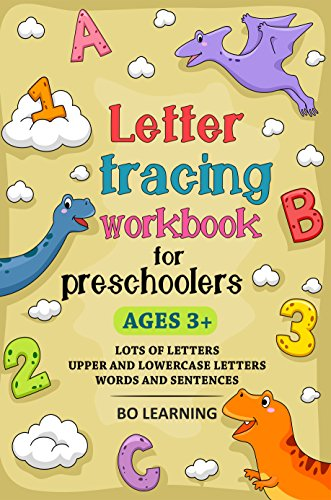 Letter Tracing Workbook For Preschoolers (Kids Ages 3-5): Handwriting Workbook and Lots of Letter Tracing Practice - Lot Letter