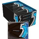 5 Gum Peppermint Cobalt Sugarfree Gum, 15 Count, (10 Pack)