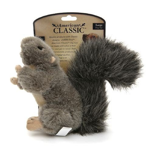 American Classic Dog Toy, Large Squirrel (4 Pack)