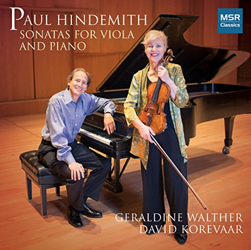 Paul Hindemith: Sonata for Viola and Piano, Op.11 No.4 (1919); Sonata for Viola and Piano, Op.25 No.4 (1922); Sonata for Viola and Piano (1939)