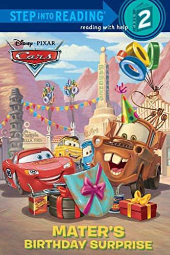 Mater's Birthday Surprise (Disney/Pixar Cars) (Step into Reading) - Wrecker Service Truck