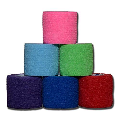 36'' SAM Splint Plus 2'' Cohesive Co-Flex Wrap Combo Kit (1 Splint/2 Wraps, Black Wrap)