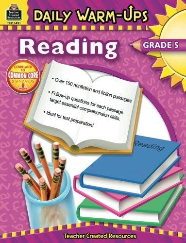 Daily Warm-Ups: Reading, Grade 5 ()