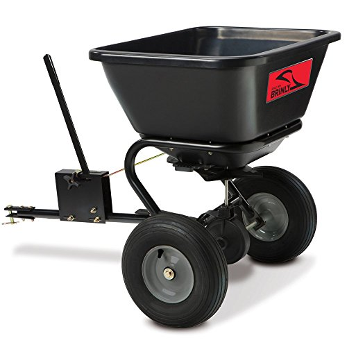 New Brinly Tow-Behind Broadcast Spreader