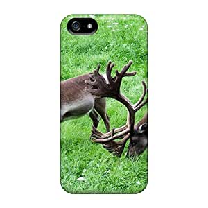 Hot Design Premium ZeGGz317MloQY Tpu Case Cover Iphone 5/5s Protection Case(reindeer Games)
