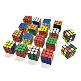 Dadam School Supplies Mini Puzzles Birthday Party Favors For Kids Boys 18 Pack 3x3 Speed Magic Cube...