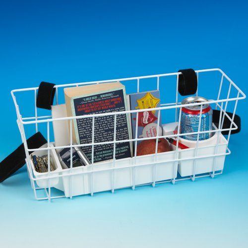 Ableware Economy Walker Basket with Hook and Loop Fasteners (703192000)