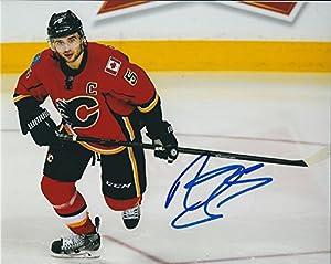 Autographed Mark Giordano 8x10 Calgary Flames Photo