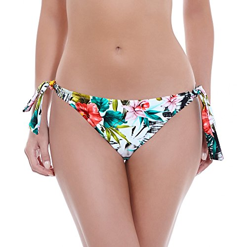 Fantasie Wakaya Classic Tie-Side Bikini Bottom, L, Mui ()
