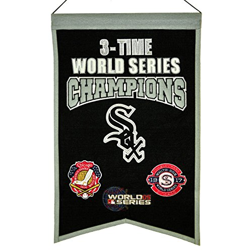 Winning Streak MLB Chicago White Sox 3 Time WS Champions Banner, One Size