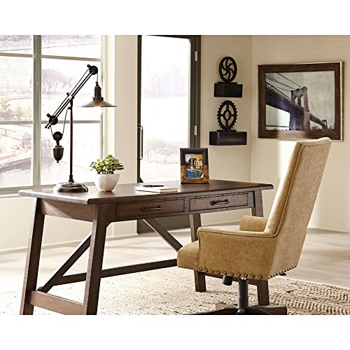 Ashley Furniture Signature Design - Kylen Desk Lamp with Metal Shade with in-Line Switch - Industrial - Bronze Finish by Signature Design by Ashley (Image #5)