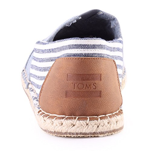 Tomas Chambray Stripe Chaussures Pour Hommes Blue Chambray Stripe