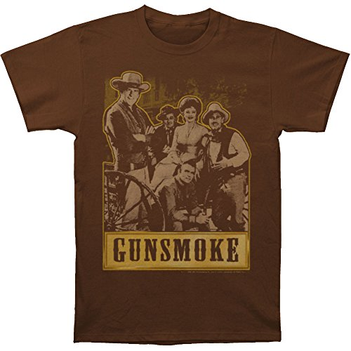 Gunsmoke Men's Gunsmoke Gang T-shirt Coffee
