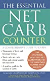 The Essential Net Carb Counter, Maggie Greenwood-Robinson, 1476791201