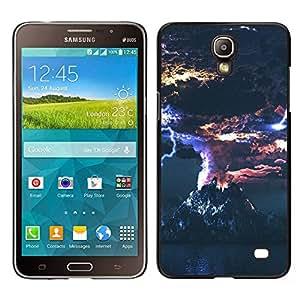 A-type Arte & diseño plástico duro Fundas Cover Cubre Hard Case Cover para Samsung Galaxy Mega 2 (Erupción volcánica)