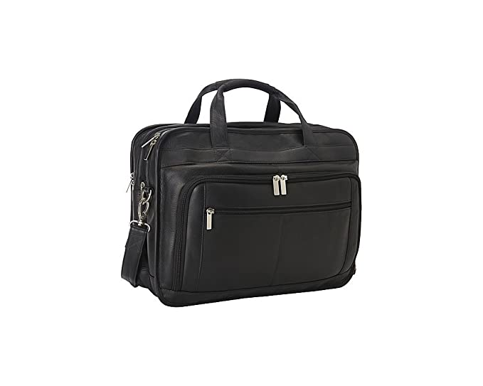ded7e9038e7d Le Donne Leather Oversized Laptop Brief
