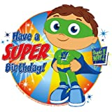 Super Why Cupcake Toppers Decoration