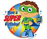 Super Why Edible Cake Topper Decoration